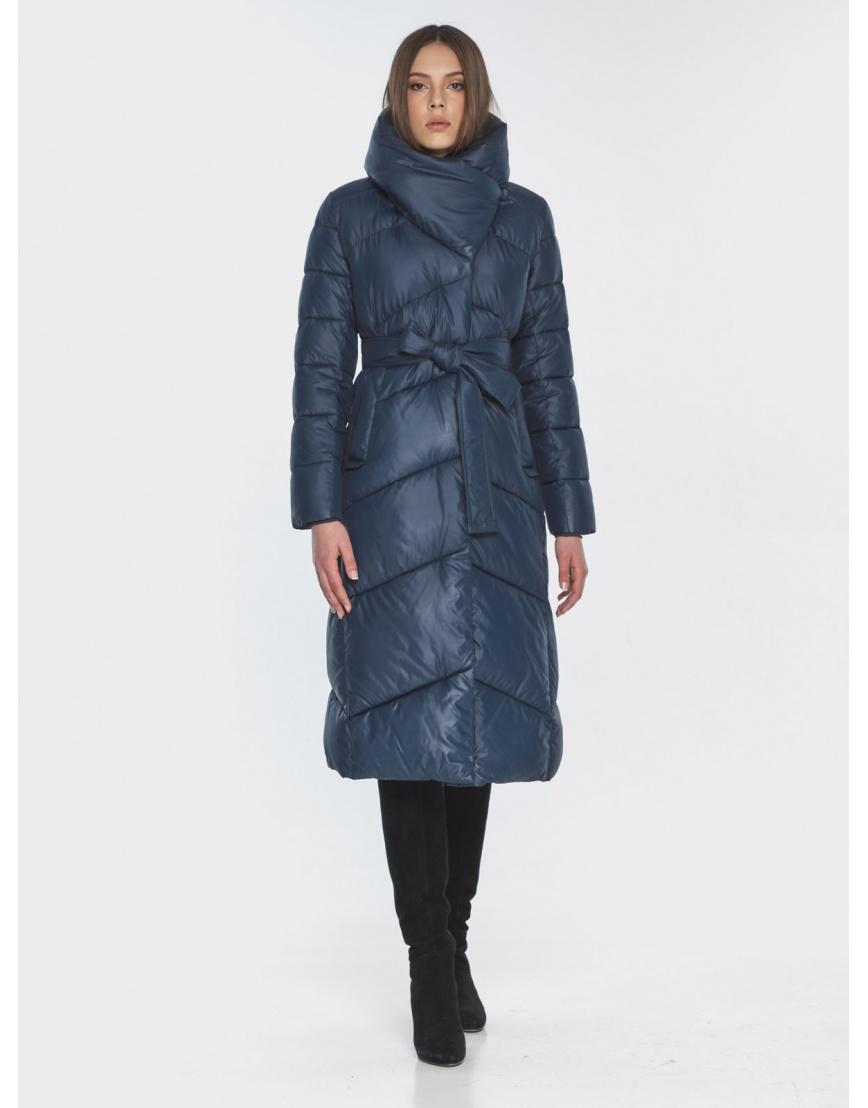 Женская стильная куртка Wild Club синяя 514-35 фото 1