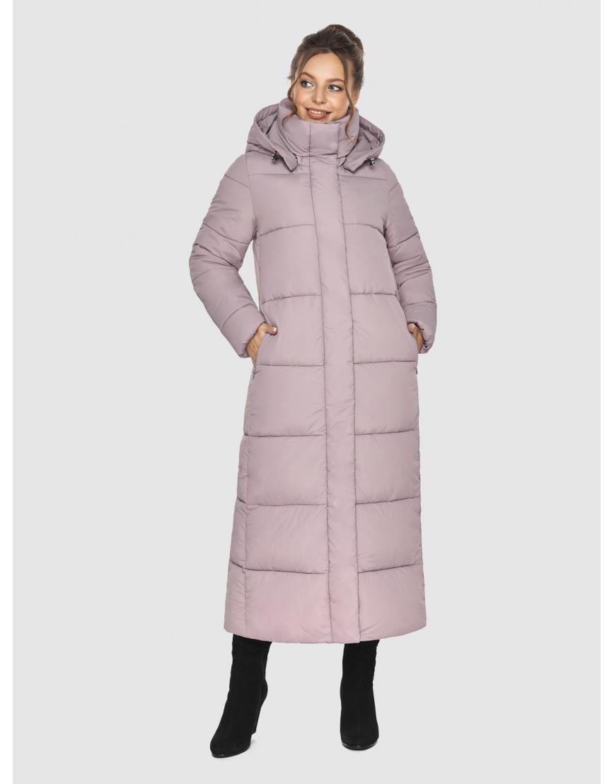 Пудровая зимняя куртка Ajento подростковая 21972 фото 1