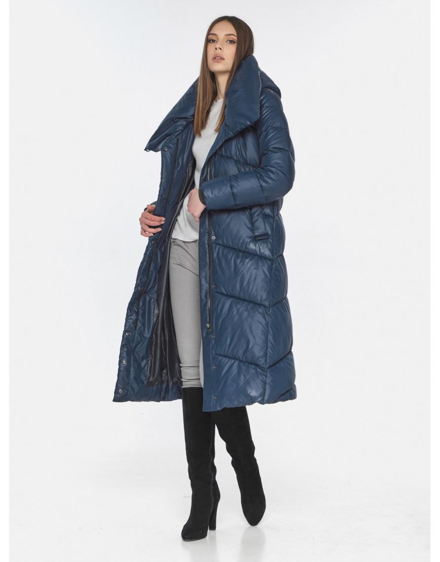 Женская стильная куртка Wild Club синяя 514-35 фото 2