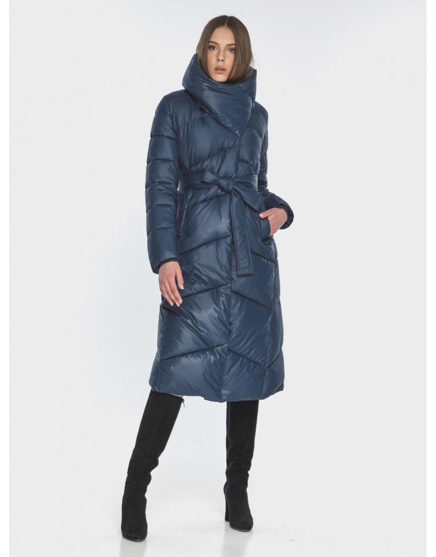 Женская стильная куртка Wild Club синяя 514-35 фото 6