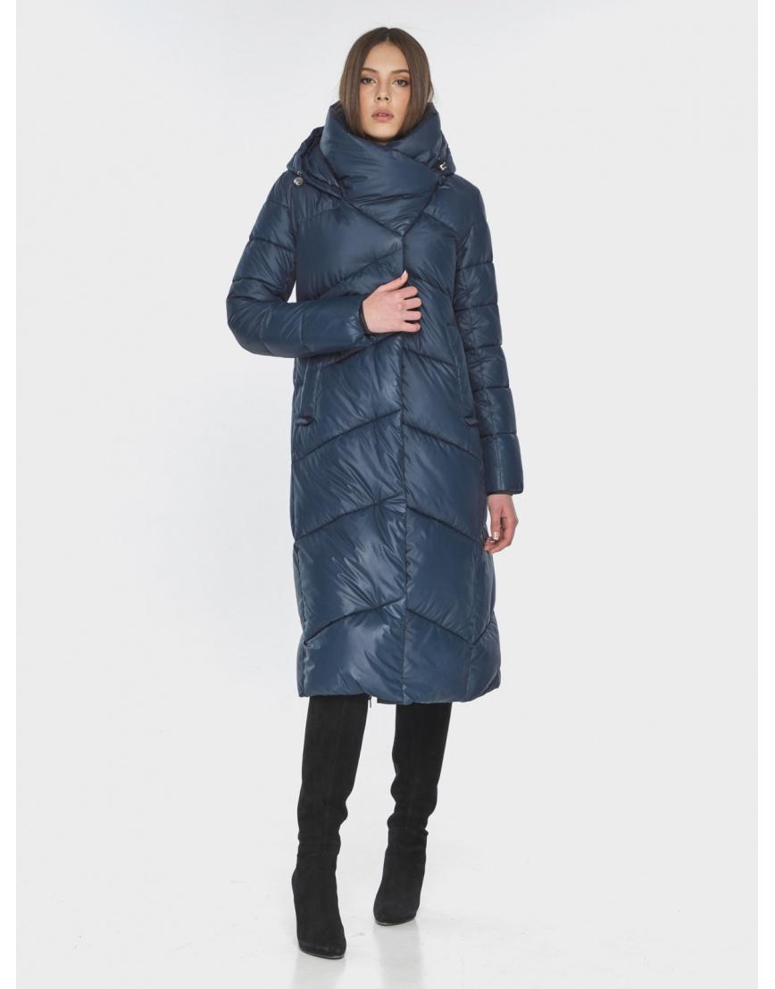 Женская стильная куртка Wild Club синяя 514-35 фото 3