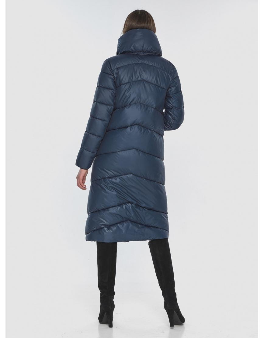 Женская стильная куртка Wild Club синяя 514-35 фото 5
