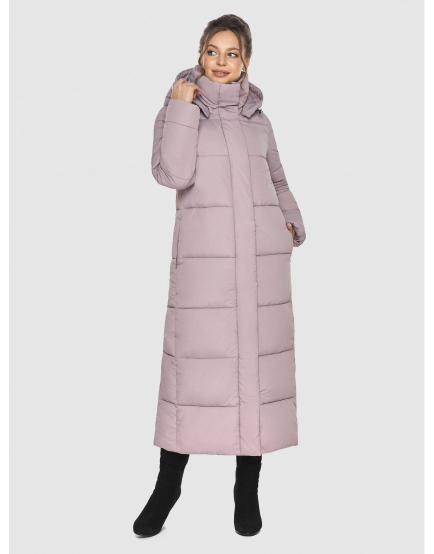 Пудровая зимняя куртка Ajento подростковая 21972 фото 6