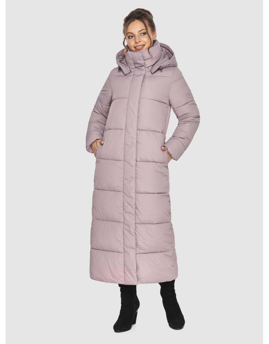 Пудровая зимняя куртка Ajento подростковая 21972 фото 5