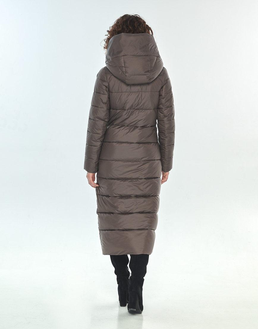 Комфортная капучиновая куртка большого размера женская Moc M6471 фото 3