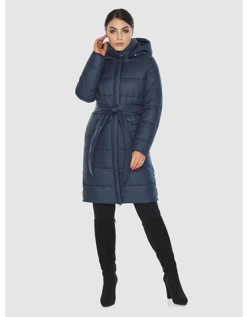 Женская куртка Wild Club комфортная синего цвета 584-52 фото 2