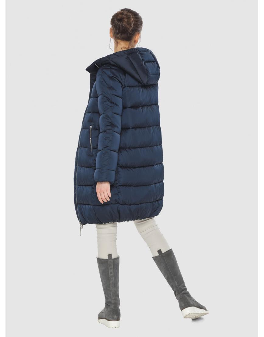 Подростковая зимняя курточка Wild Club средней длины синяя 526-10 фото 2