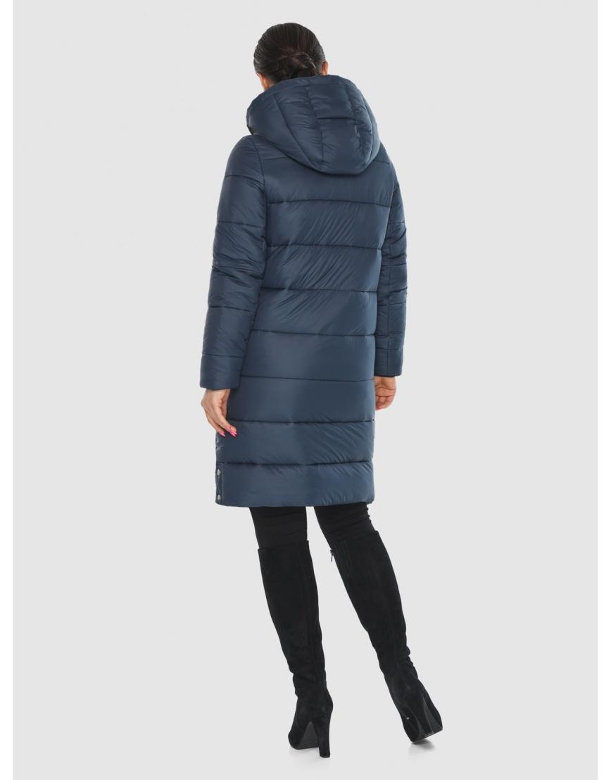 Женская куртка Wild Club комфортная синего цвета 584-52 фото 4