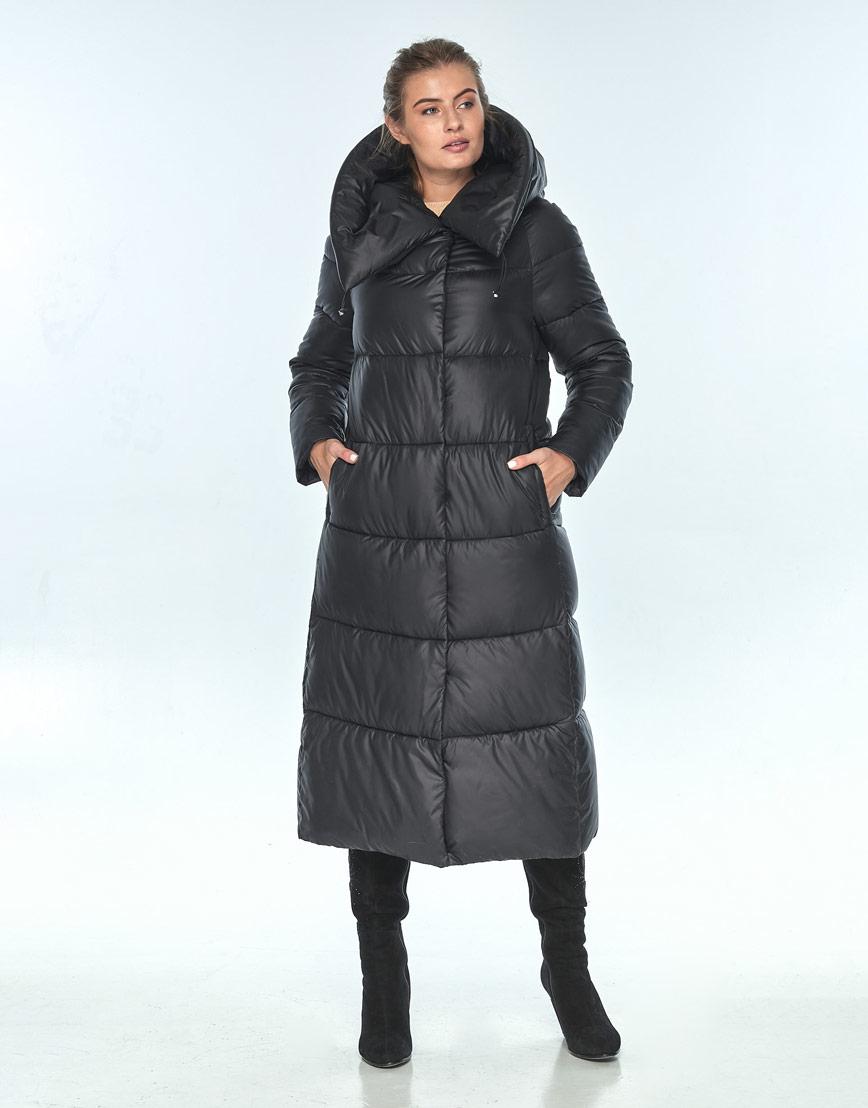 Куртка длинная женская Ajento чёрная 21550 фото 2