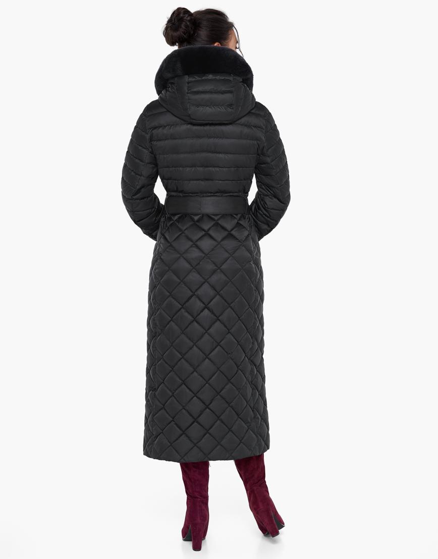 Непромокаемый женский зимний воздуховик Braggart цвет черный модель 31012 фото 5
