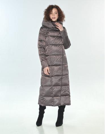 Зимняя куртка капучиновая Moc женская M6321 фото 1