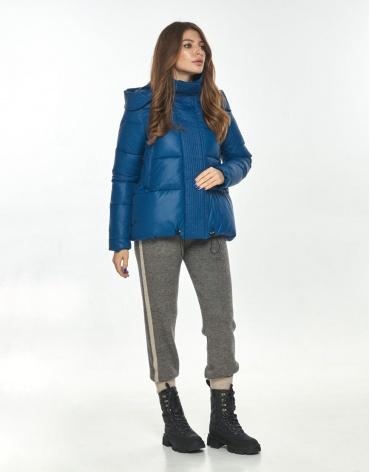 Комфортная куртка женская Ajento синяя осенняя 23952 фото 1