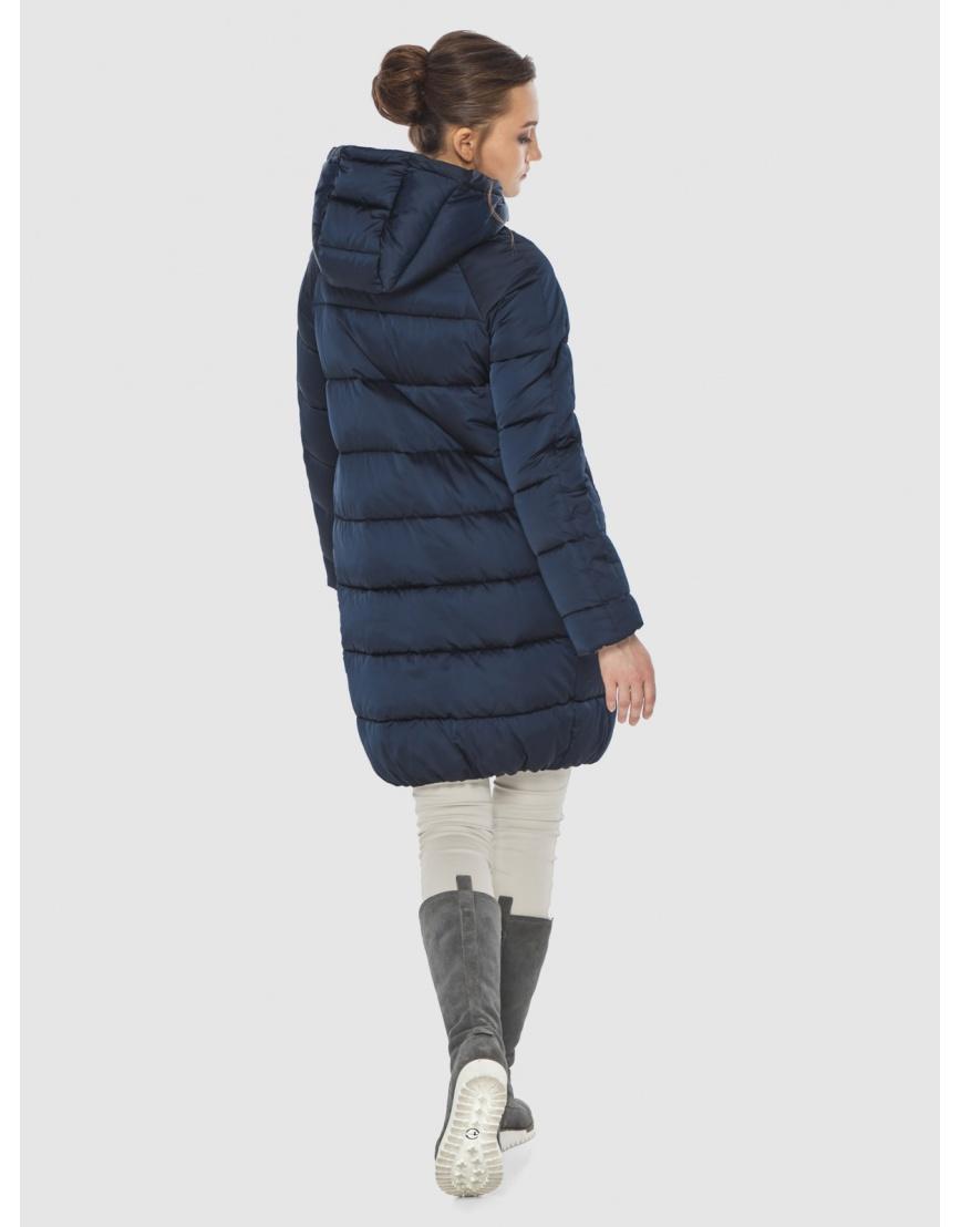 Подростковая зимняя курточка Wild Club средней длины синяя 526-10 фото 4