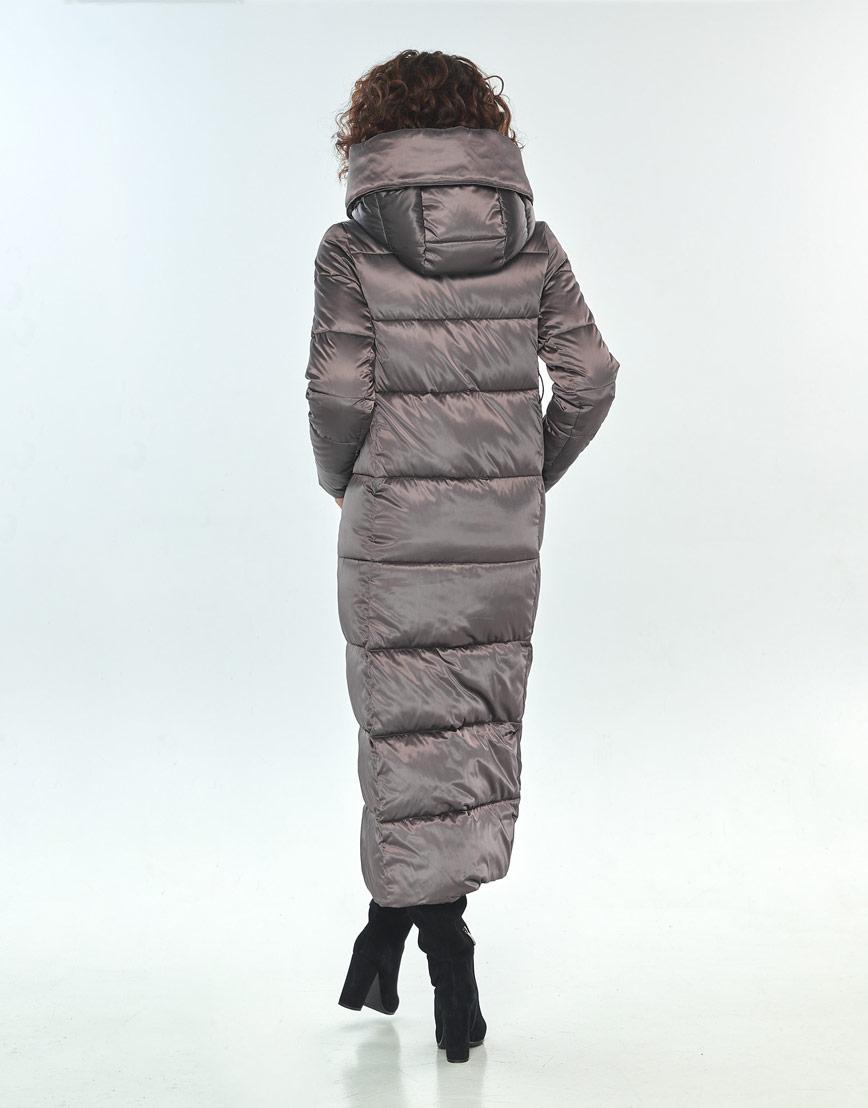Зимняя куртка капучиновая Moc женская M6321 фото 3