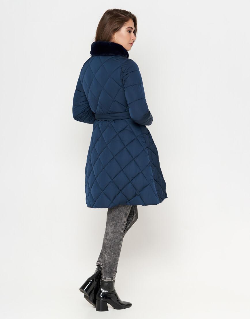 Куртка стильная синяя женская модель 5231 фото 3