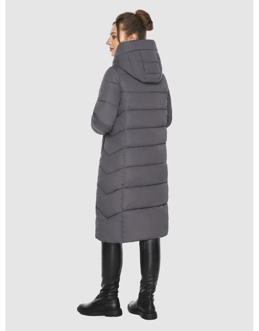 Фирменная куртка подростковая Ajento серая на зиму 22975 фото 4