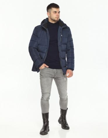 Куртка зимняя синего цвета модель 36570 фото 1