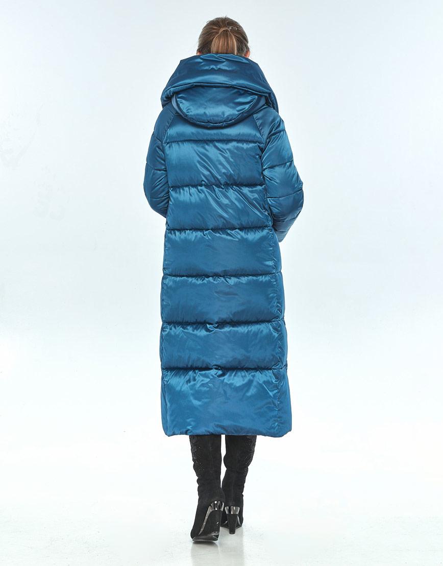 Куртка с карманами женская Ajento аквамариновая 21550 фото 3
