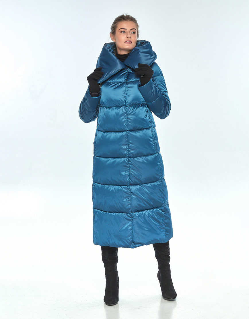 Куртка с карманами женская Ajento аквамариновая 21550 фото 1