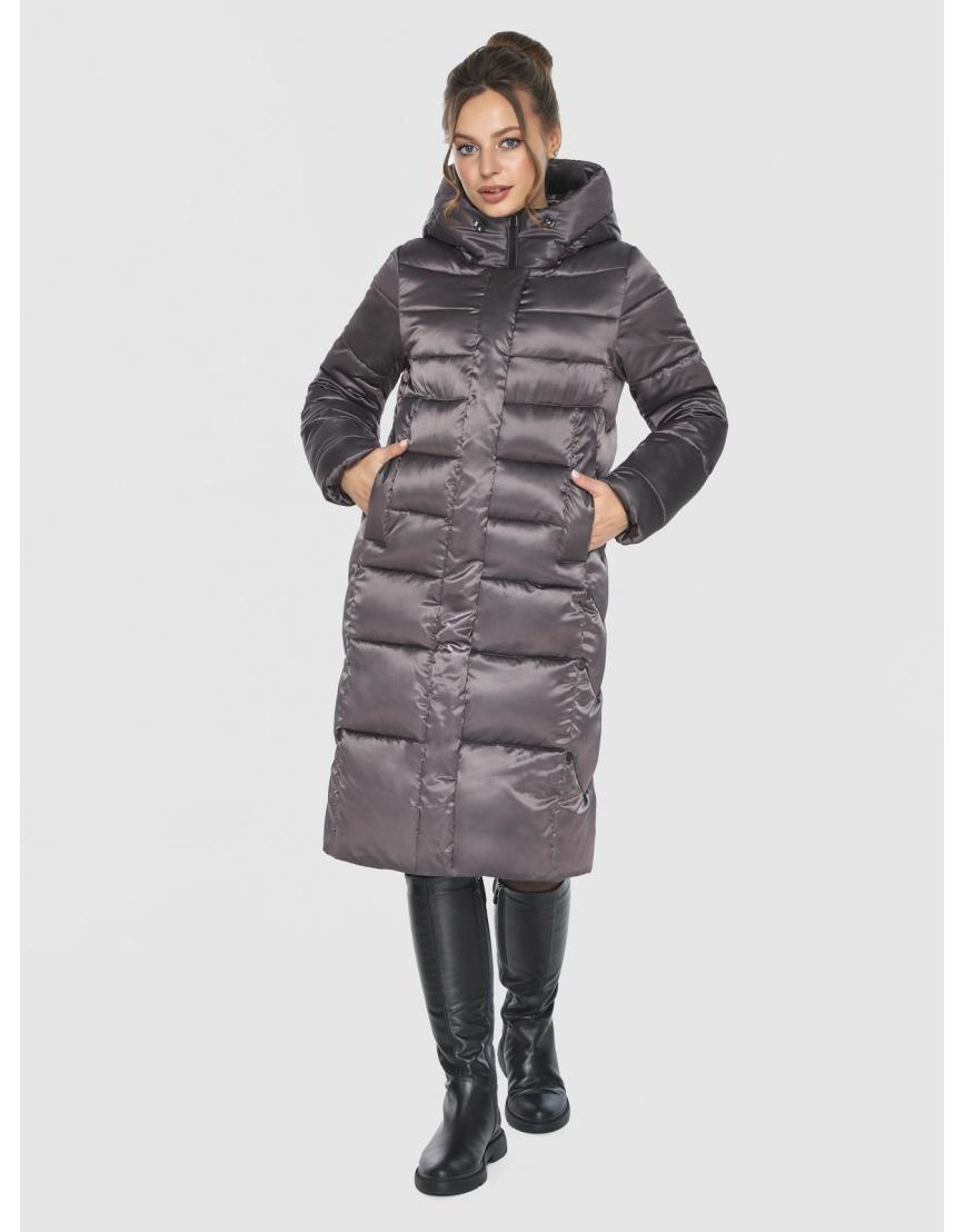 Капучиновая удобная куртка Ajento зимняя для подростков 22975 фото 1