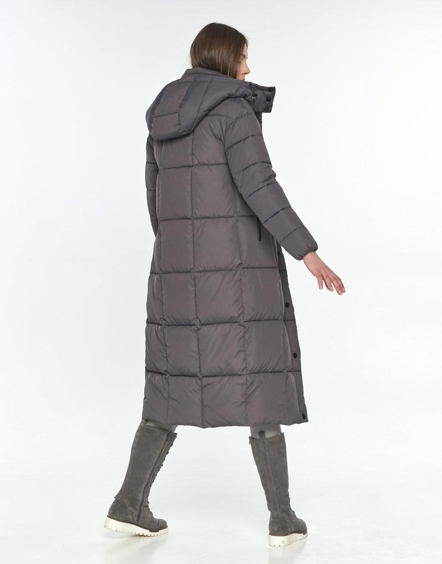 Длинная серая куртка женская Wild Club 541-74 фото 3