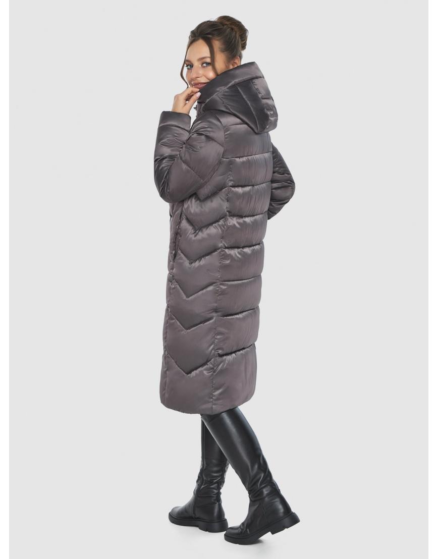 Капучиновая удобная куртка Ajento зимняя для подростков 22975 фото 4