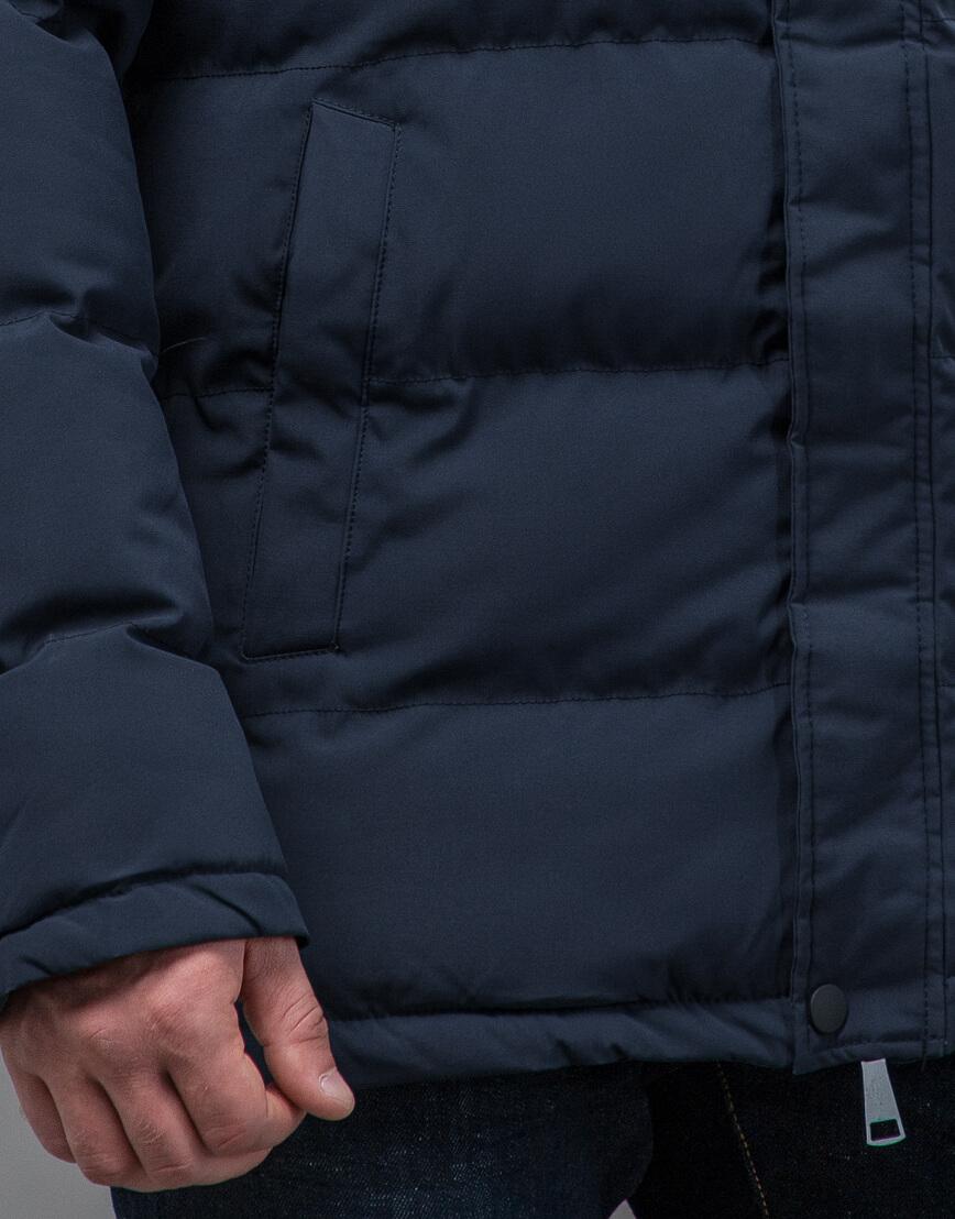 Куртка темно-синяя оригинального пошива модель 70450 фото 6