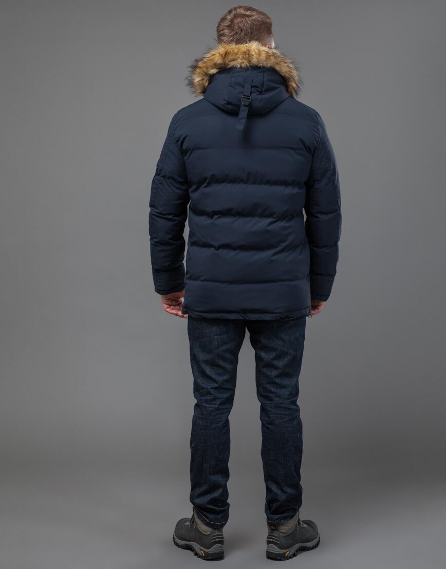 Куртка темно-синяя оригинального пошива модель 70450 фото 4