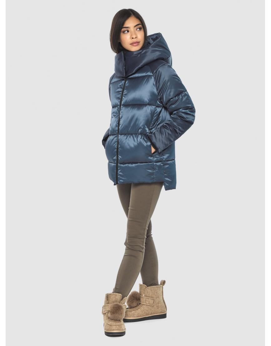 Синяя комфортная куртка женская Moc M6212 фото 1