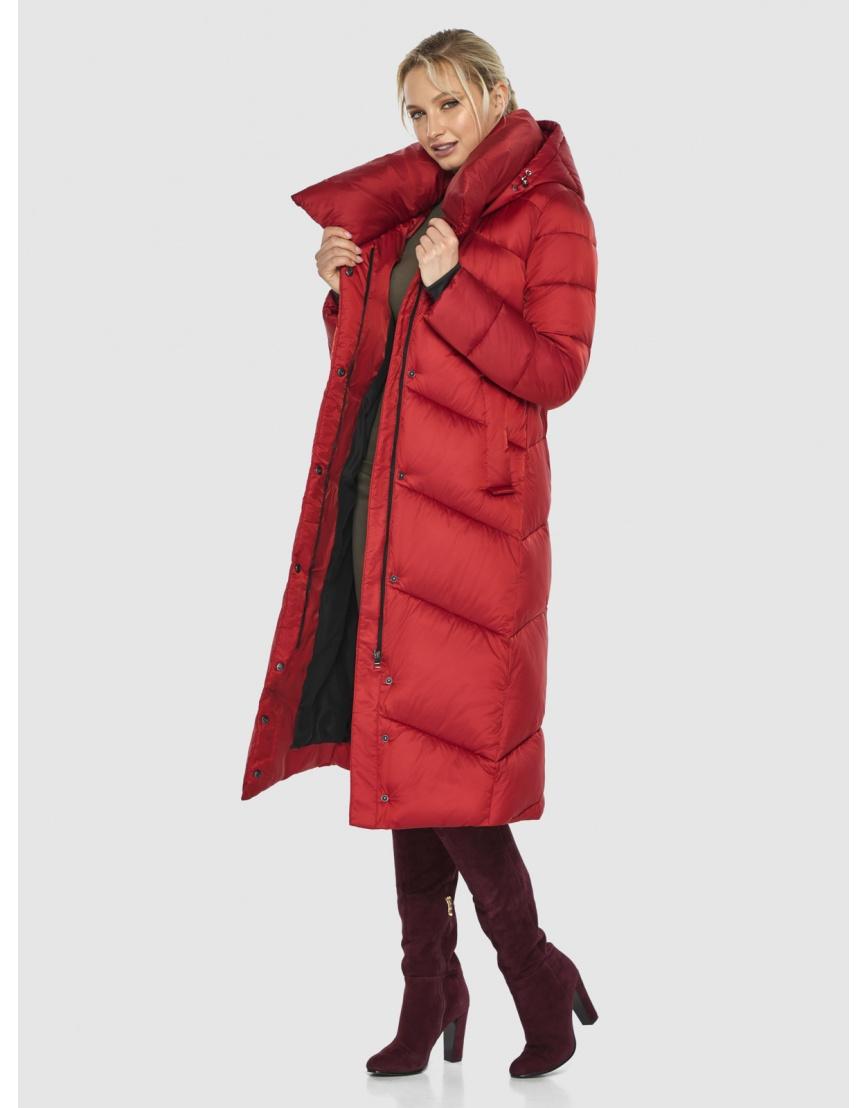 Красная элегантная женская куртка Kiro Tokao 60035 фото 2