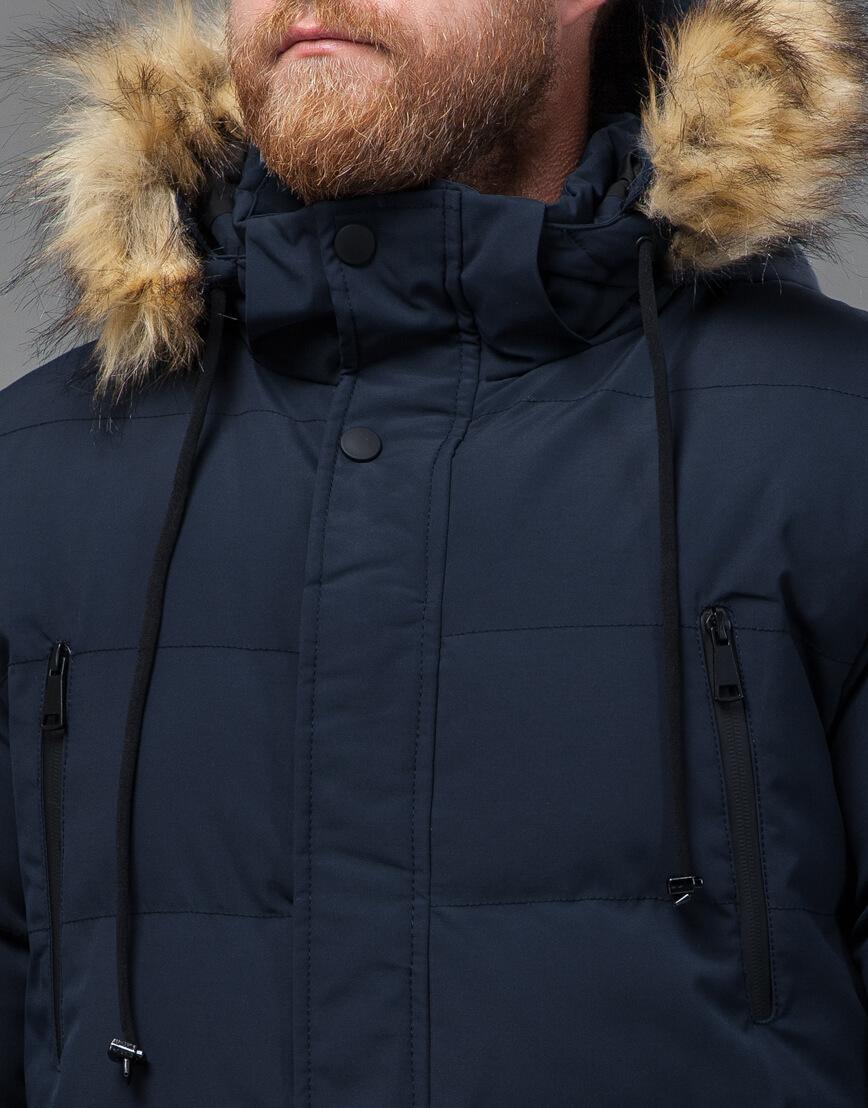 Куртка темно-синяя оригинального пошива модель 70450 фото 5