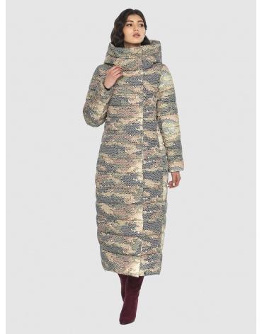 Трендовая куртка с рисунком женская Vivacana 8320/21 фото 1