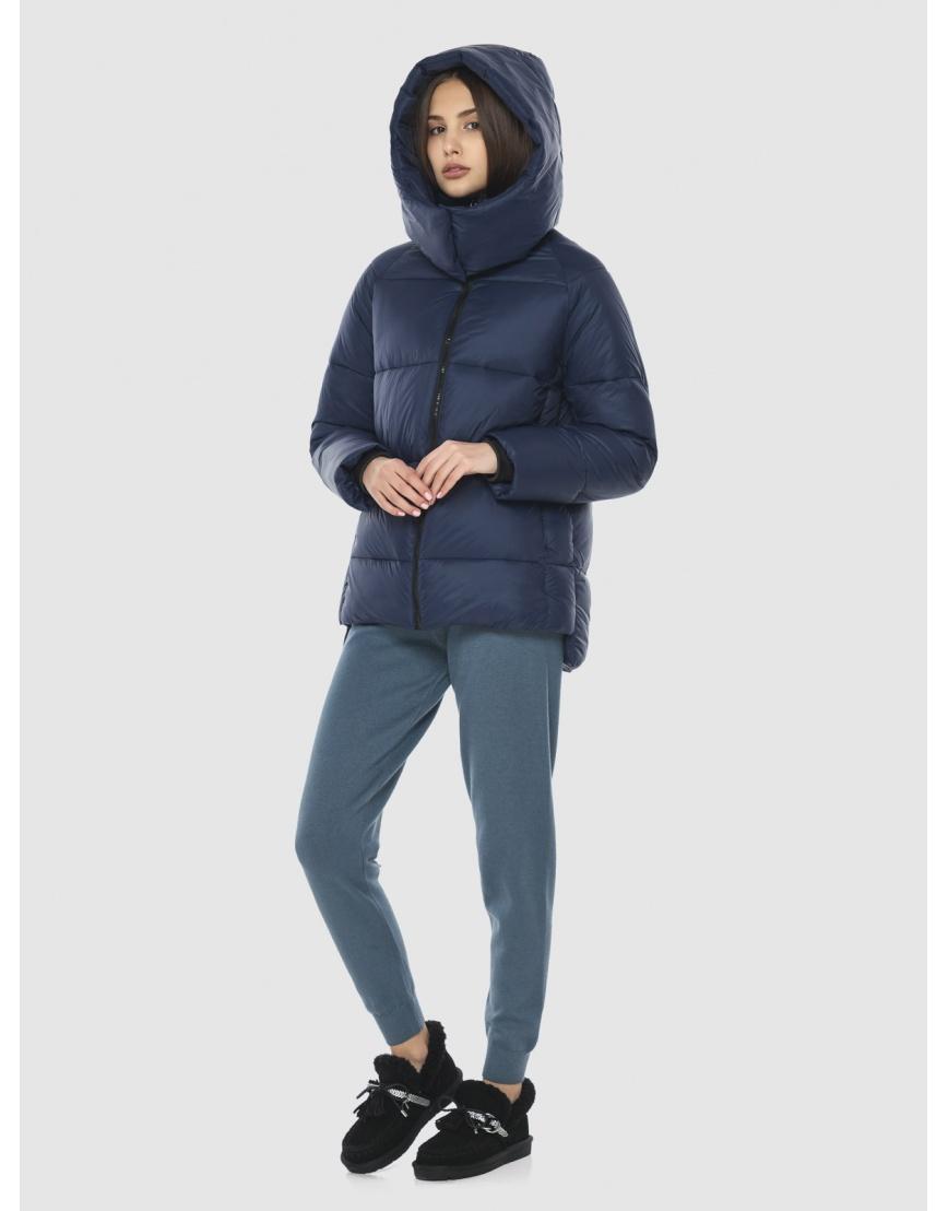Куртка синяя комфортная женская Vivacana 7354/21 фото 3