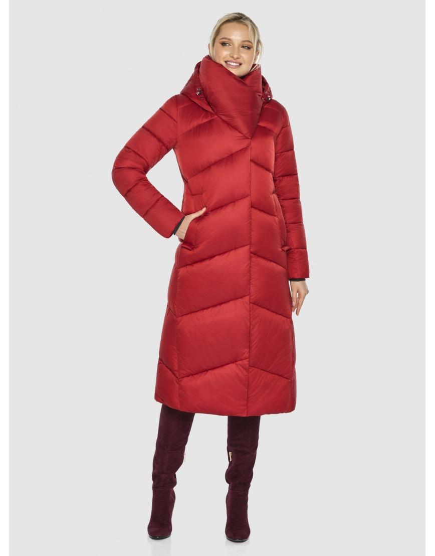 Красная элегантная женская куртка Kiro Tokao 60035 фото 3