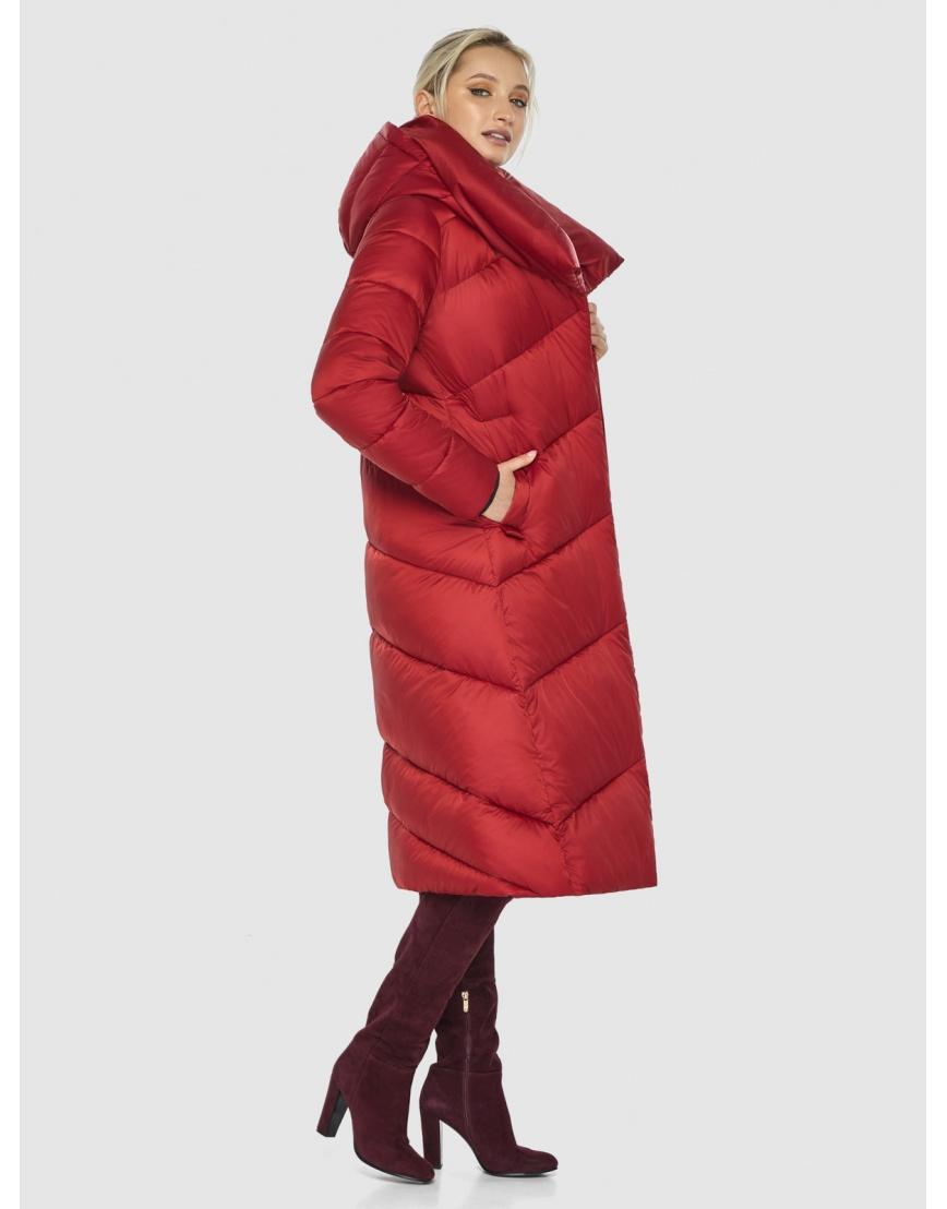 Красная элегантная женская куртка Kiro Tokao 60035 фото 6