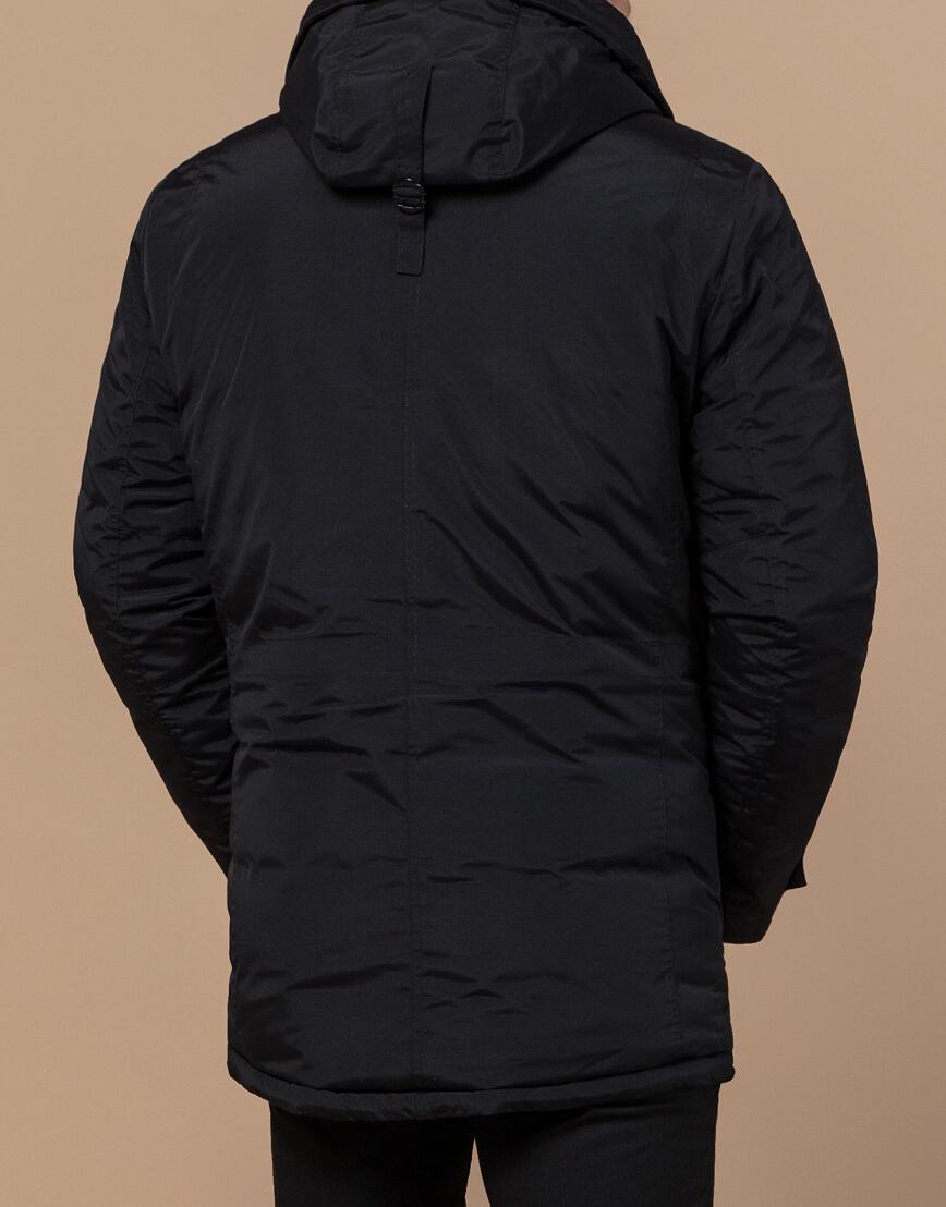 Черная мужская парка на зиму модель 48560 оптом