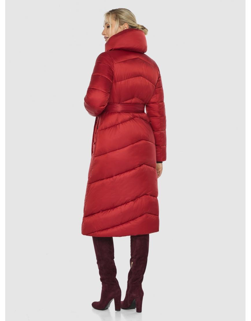 Красная элегантная женская куртка Kiro Tokao 60035 фото 4