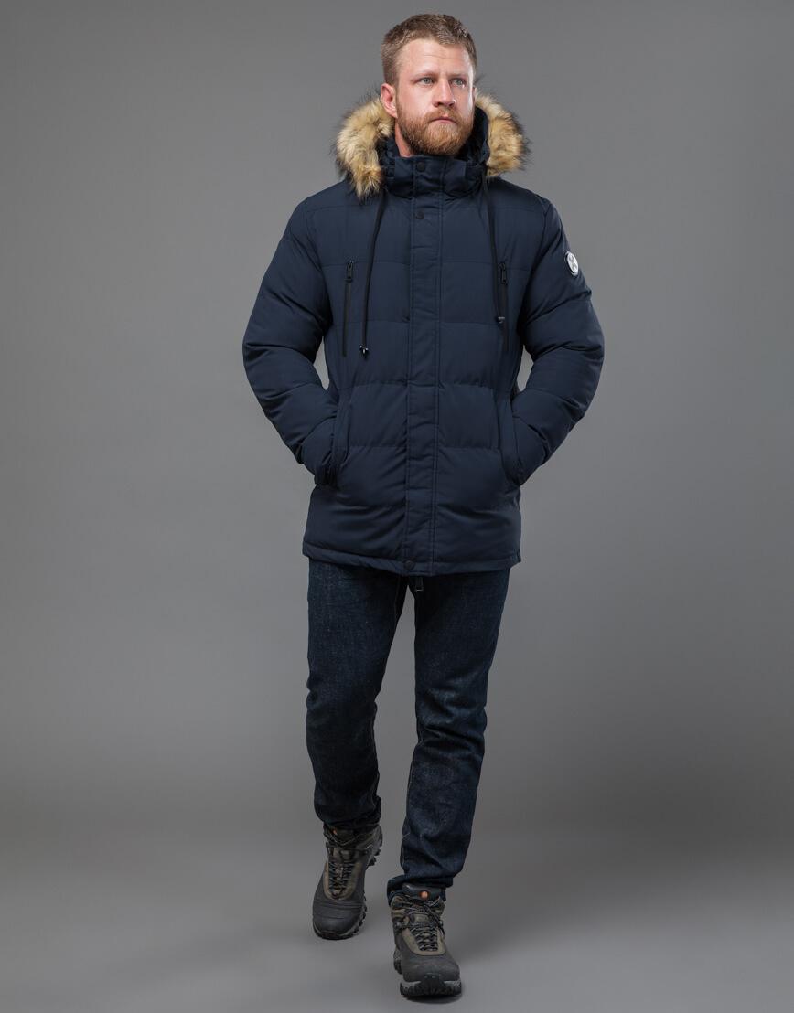 Куртка темно-синяя оригинального пошива модель 70450 фото 1