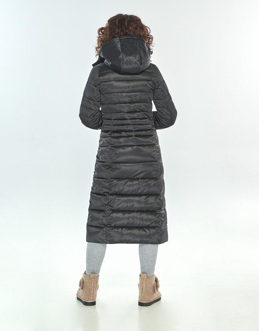 Куртка женская Moc чёрная для зимы M6430 фото 3