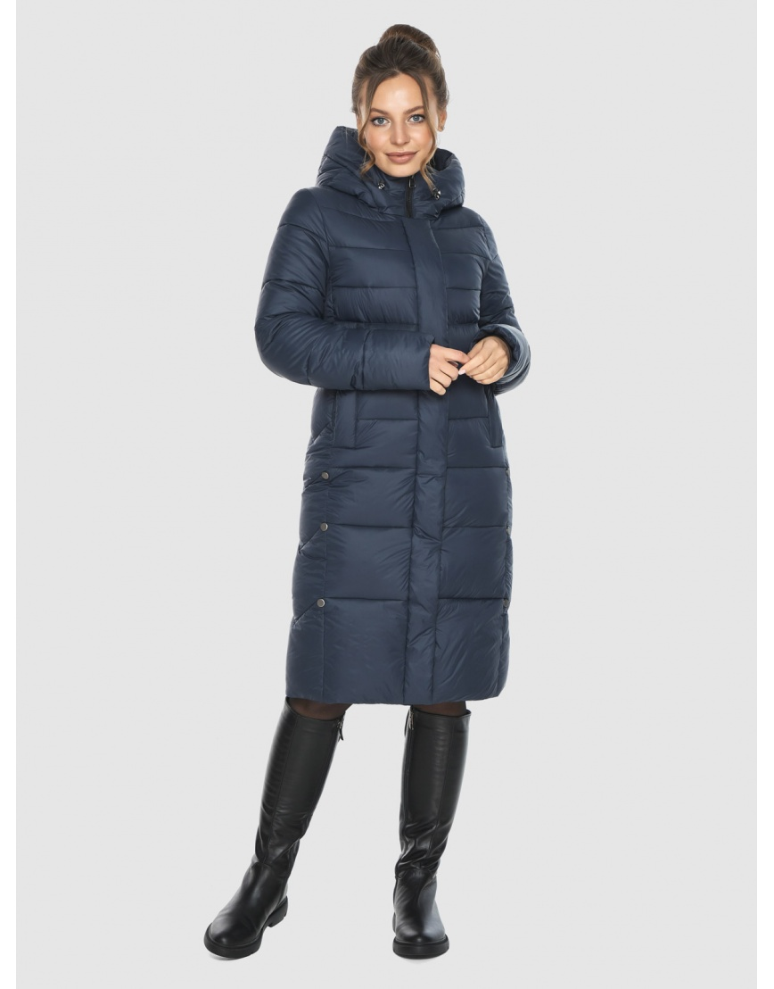Куртка модная зимняя подростковая Ajento синяя 22975 фото 1