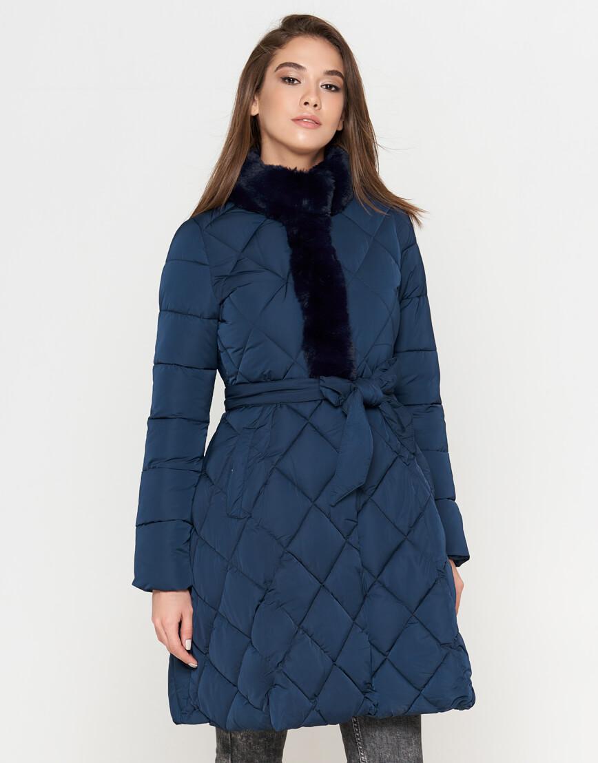 Куртка оригинальная синяя женская модель 5231 фото 1