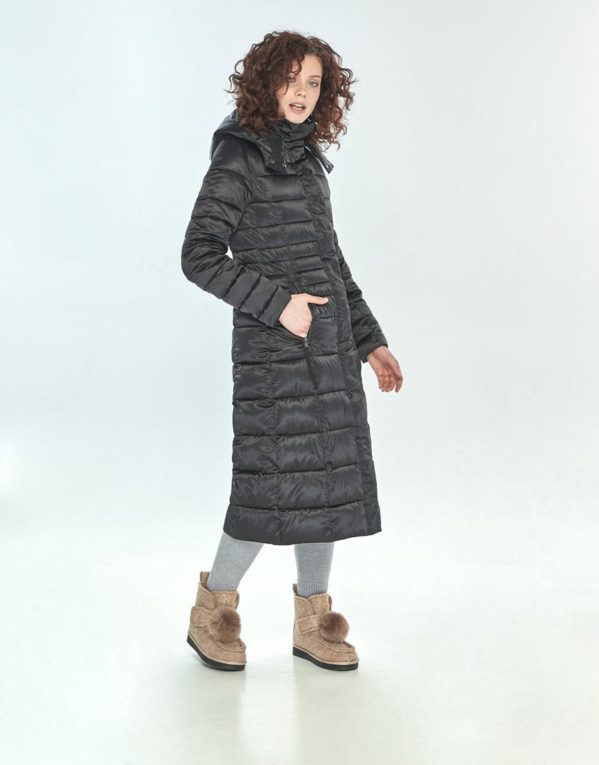Куртка женская Moc чёрная для зимы M6430 фото 2