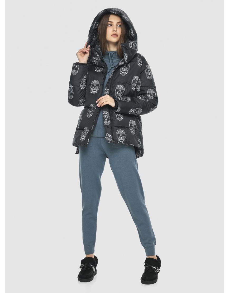 Женская стильная куртка с рисунком Vivacana 7354/21 фото 5