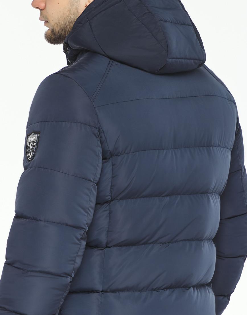 Трендовая куртка мужская синего цвета модель 36470 фото 6