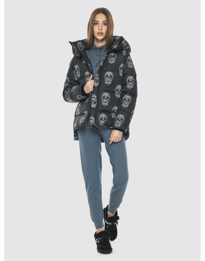 Женская стильная куртка с рисунком Vivacana 7354/21 фото 2