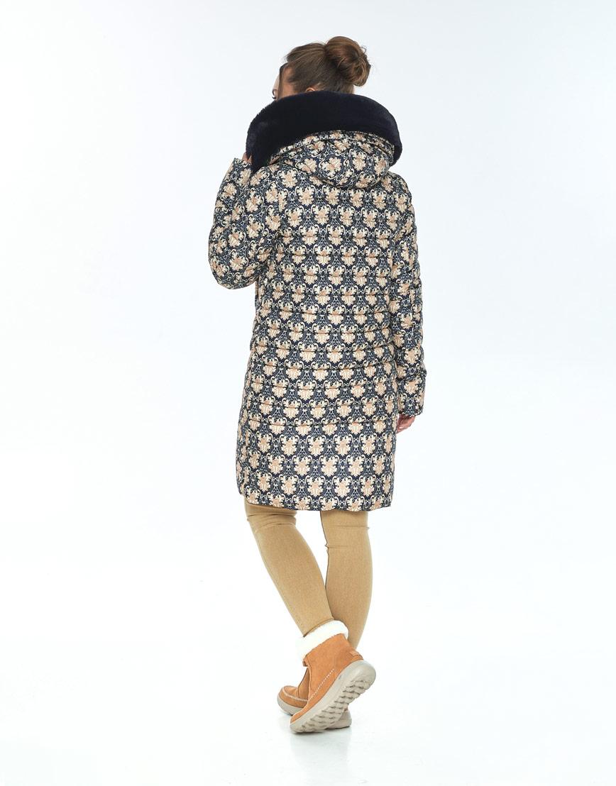 Модная куртка с рисунком женская Ajento зимняя 24138 фото 3