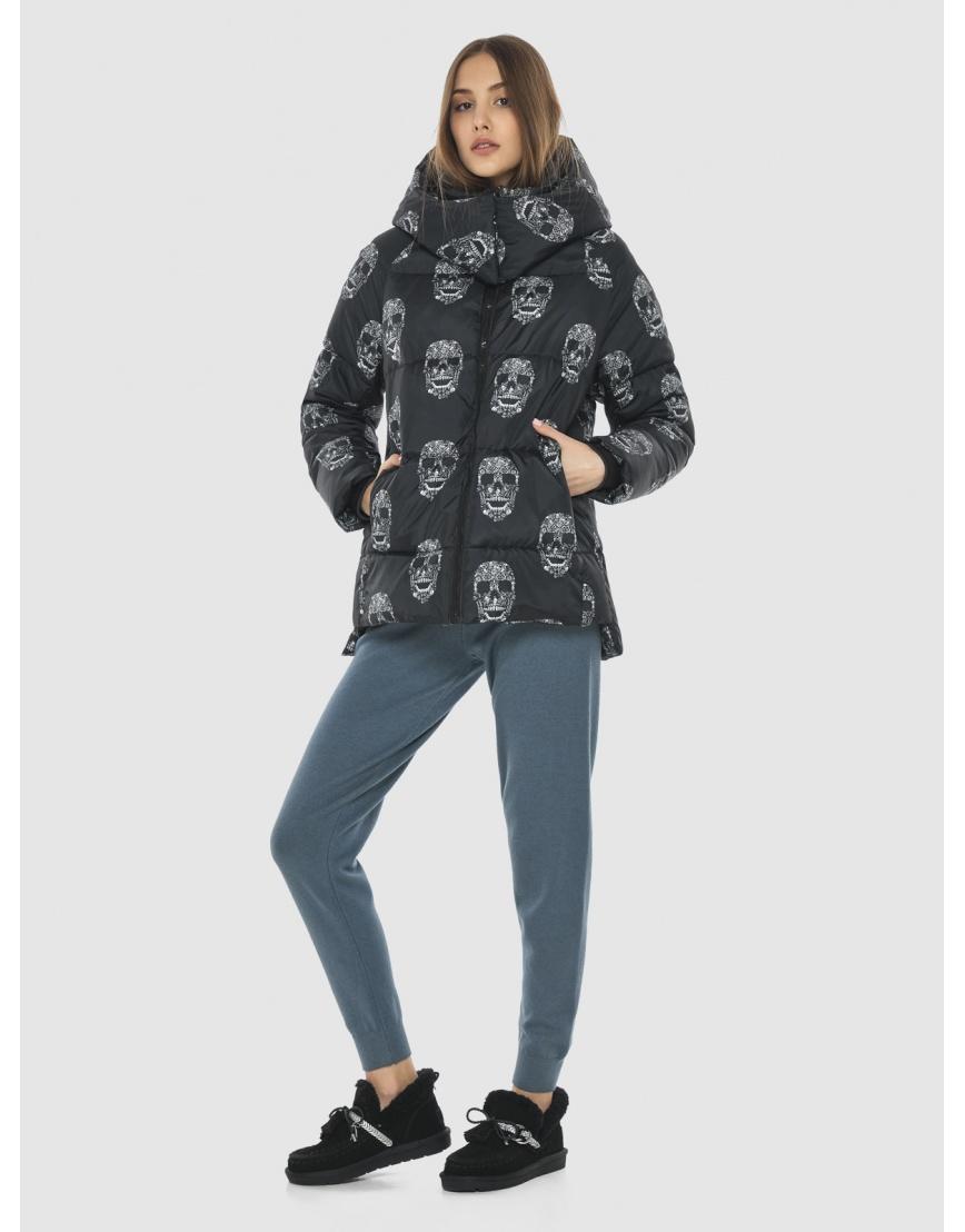 Женская стильная куртка с рисунком Vivacana 7354/21 фото 1