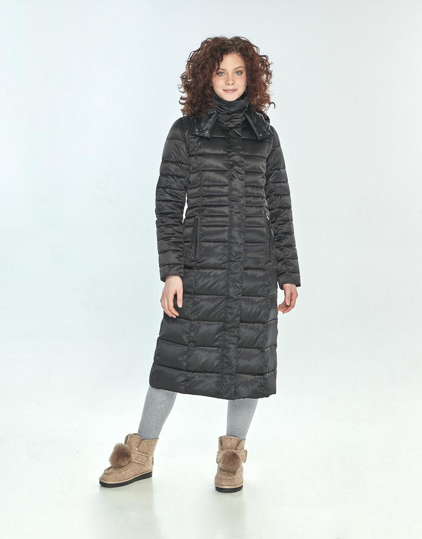 Куртка женская Moc чёрная для зимы M6430 фото 1