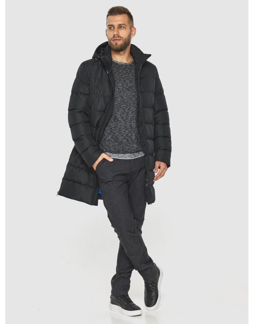 Куртка с манжетами мужская Tiger Force цвет чёрный 2812 фото 4
