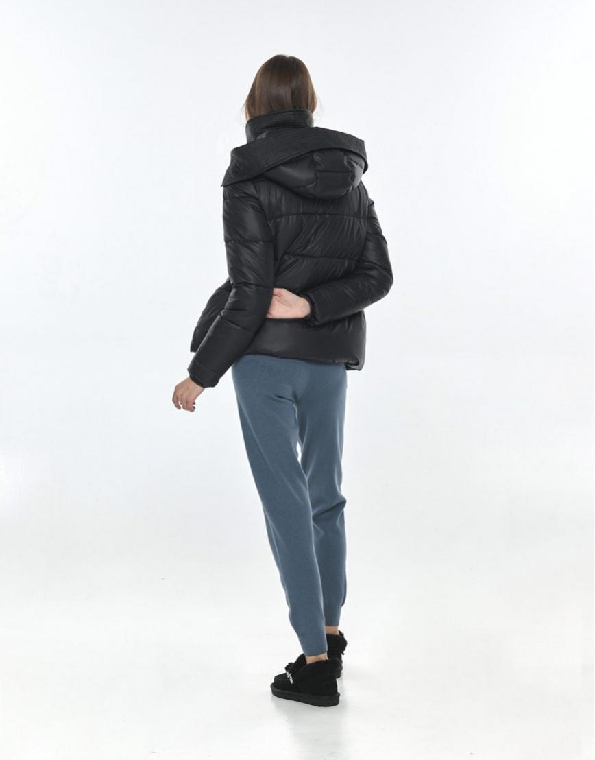 Куртка на осень женская Vivacana практичная чёрная 9742/21 фото 3